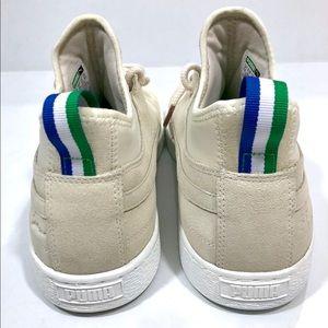 407b262a727101 Puma Shoes - Puma x Big Sean Suede White Mid Classic  110 Shoes